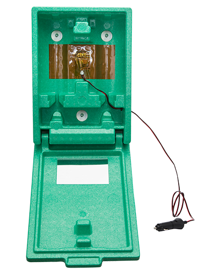 Plum Plug & Heat heatable eyewash box, large