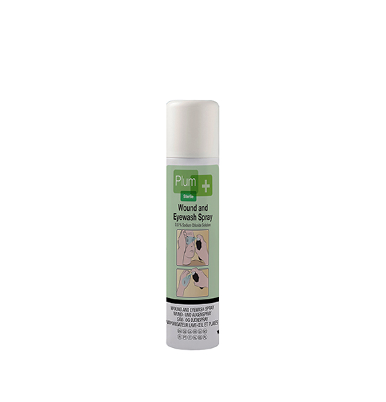 wound and eye wash spray