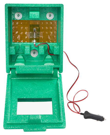 Plum Plug & Heat heatable eyewash box, small