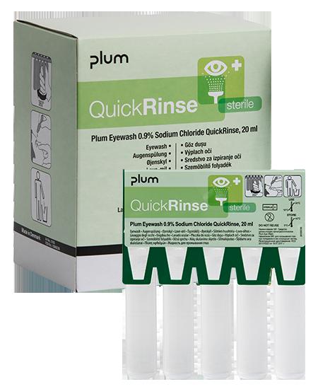 QuickRinse® eyewash ampoules