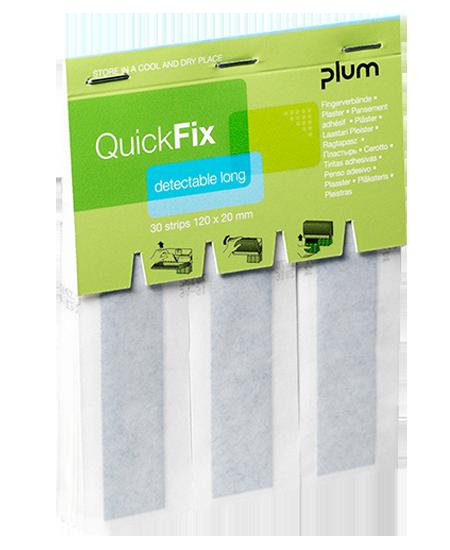 QuickFix Long Detectable fémszálas sebtapaszok