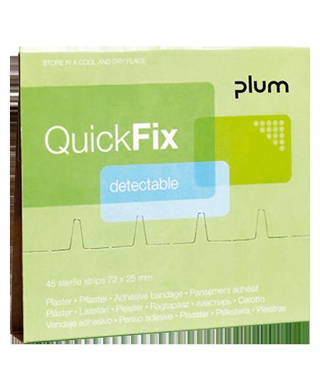 QuickFix Detectable fémszálas sebtapaszok