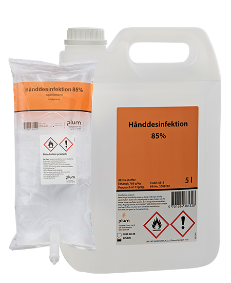 Plum disinfector 85%