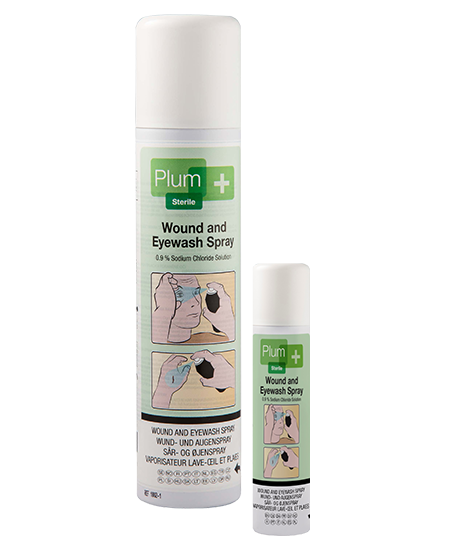 Plum Wound & Eyewash spray