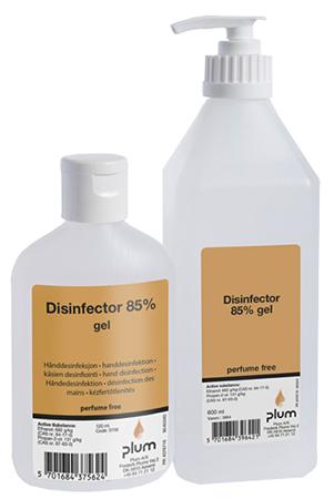 Disinfector 85% higiénés kézfertőtlenítő